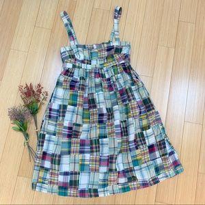 J. CREW madras plaid dress, 4.